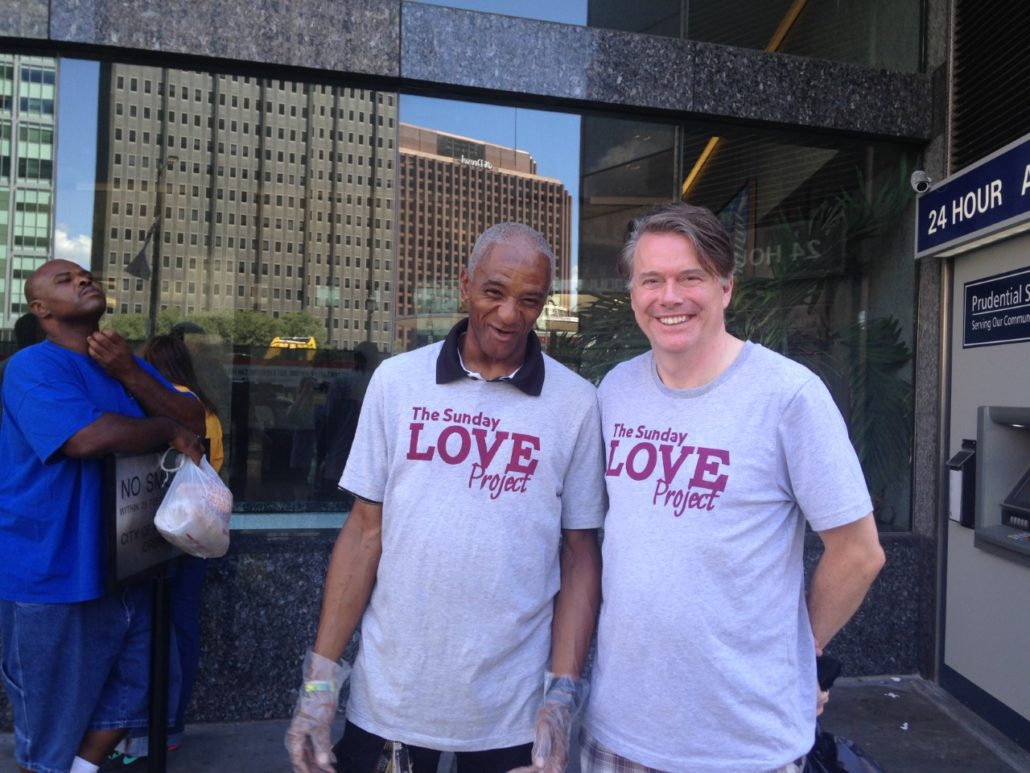 Ger Ronan Volunteers With The Sunday Love Project
